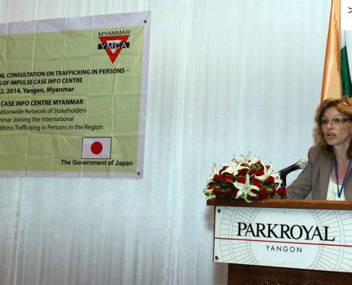 Impulse Model Partnerships at the Indo Myanmar Regional Consultation