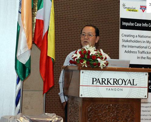 Pol. Col. Rallyan Mone (Retd.), Hope Foundation Myanmar