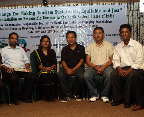 Impulse NGO Network's Media Partners in the northeast, at the Regional Consultation on Responsible Tourism