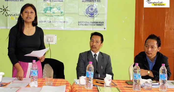 Impulse Model, Prevention   Paralegal Volunteer Training, Arunachal Pradesh