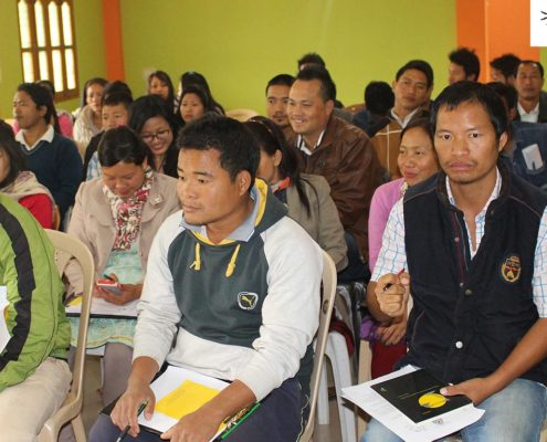 Participants at the Impulse Paralegal Volunteer Training program, Arunachal Pradesh
