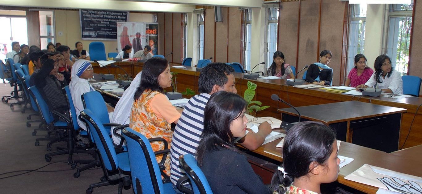 Participants at the two-day Training Program for the Care Givers of Children's Home
