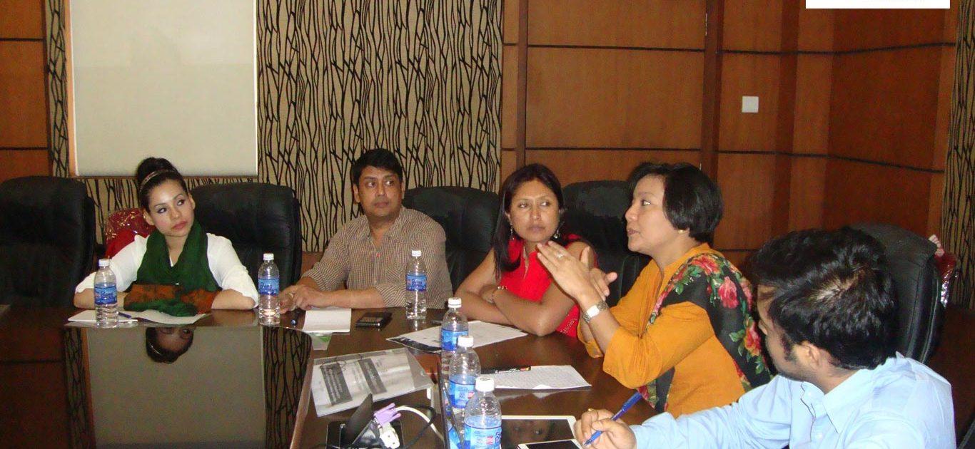 Rukmini Baruah - Executive Member UTSAH. Shankardev Choudhury Vice - Chairperson UTSAH. Hasina Kharbhih - Chair of Board, Impulse NGO Network. Miranda K. Ingtipi - Additional SP (CID) Department of Police Government of Assam. Miguel Queah - Founder Chairman UTSAH;