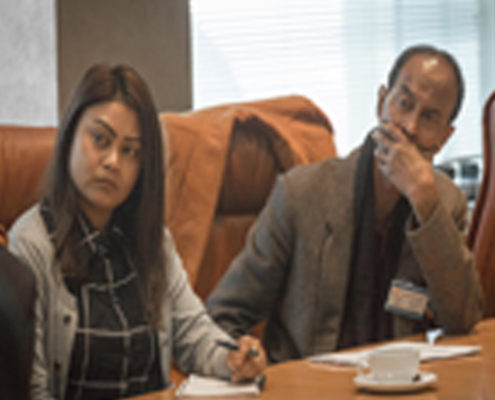 Emarine Kharbhih – Consultant, Impulse NGO Network. A.G. Kharbhih - Finance Board Director, Impulse NGO Network.