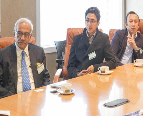 Krishan Varma - Special Secretary (Retd) Government of India. Maitreya Shakya - Business Manager Impulse Social Enterprises; Advocate Tashi Rapten – Barfungpa.