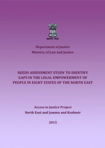 Access to Justice in North East and Jammu Kashmir