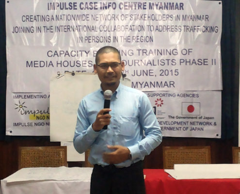 Capacity Building Myanmar Media Phase 2 17