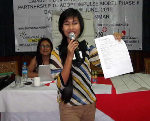 Su Myat Htet - Case Manager Impulse Case Info Centre Mayanmar