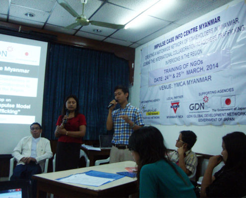 Capacity Building Training For NGOs to Adopt the Impulse Model - Myanmar 24 & 25 March, 2014