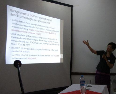 Kyoko Kasuki - Chief Advisor JICA/ICTP.