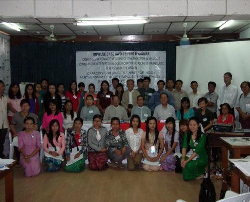 Capacity Building Training for Myanmar NGOs