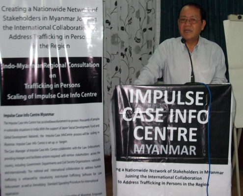 U Rallyan Mone - ICIC Myanmar Consultant.