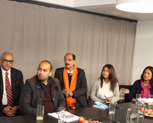 Krishan Varma - Special Secretary, (Retd) Government of India. Amit Patro - Editor Sikkim Express; Samudra Gupta - Kashyap Assistant, Editor The Indian Express. Emarine Kharbhih - Consultant, Impulse NGO Network. Hasina Kharbhih - Chair of Board, Impulse NGO Network.