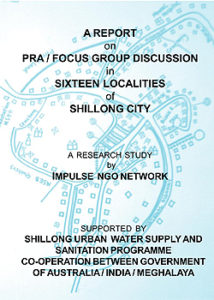 Participatory Rural Appraisal on Water and Sanitation in Shillong