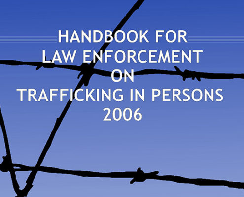 Handbook for Law Enforcement on Trafficking in Persons F