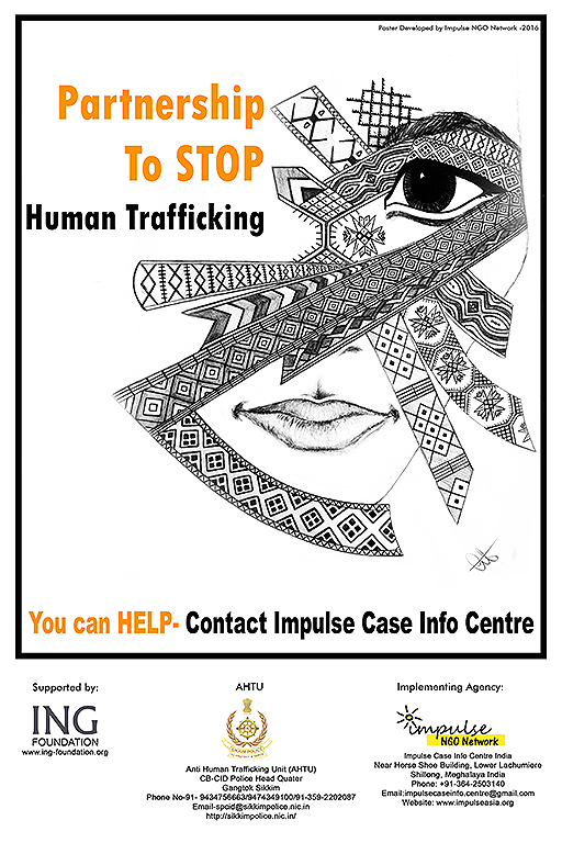 Impulse Case Info Centre AHTU Sikkim Poster