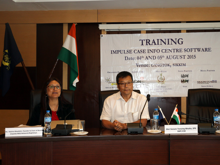 Impulse Case Info Centre, Software Training – Gangtok