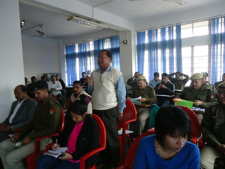 Orientation on Human Trafficking for AHTU, Assam
