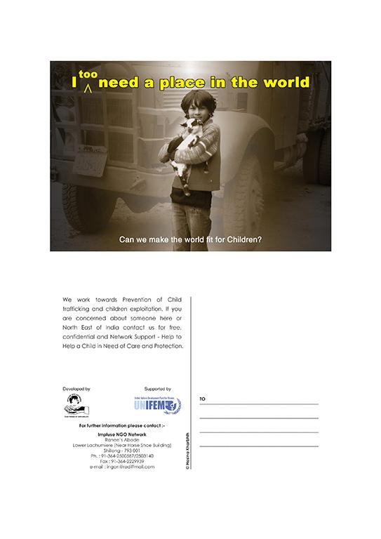UNIFEM Poster on Prevention of Child Trafficking