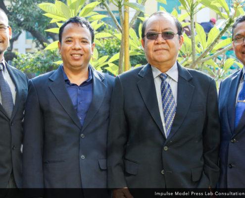 The Myanmar Delegates, at the Impulse Model Press Lab Inaugural Consultation