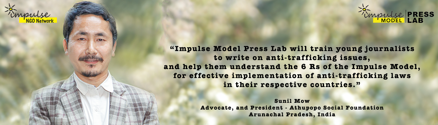 Sunil Mow, Lawyer/President- Athupopo Social Foundation, and Technical Expert, Impulse Model Press Lab