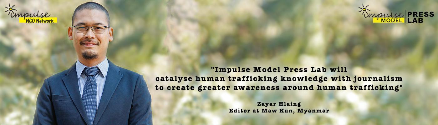 Zayar Hlaing, Head of Myanmar Journalist Network
